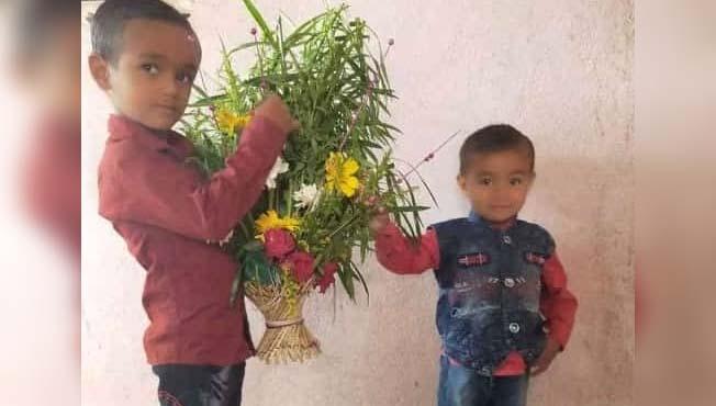 बीड : दोन सख्ख्या भावांचा शेततळ्यात बुडून मृत्यू
