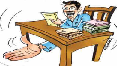 तासगाव तहसिल कार्यालय: सेवानिवृत्त लिपिक लाच घेताना पोलिसांच्या जाळ्यात