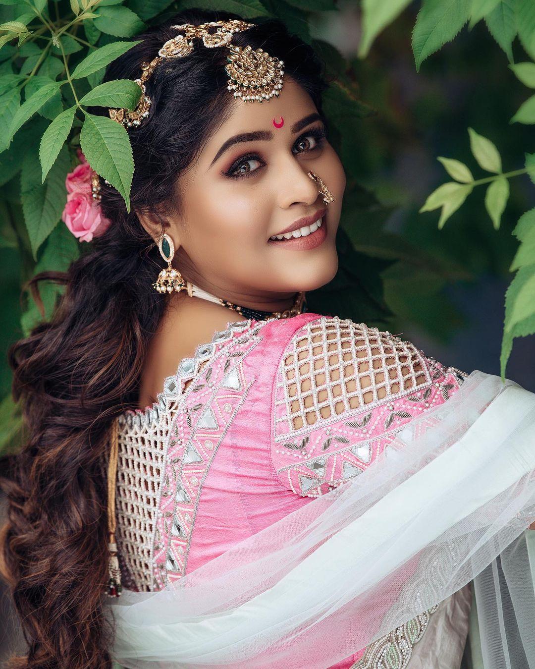 Marathi Actress Saree Look