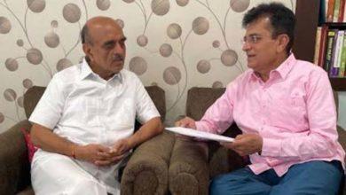 किरीट सोमय्या-अर्थ राज्यमंत्र्यांची भेट, मुश्रीफ यांच्यावरील आरोपांविषयी झाली चर्चा